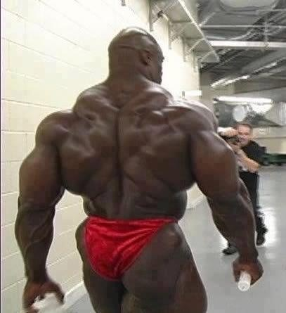 Ronnie Coleman, big bodybuilder and Mr Olympia