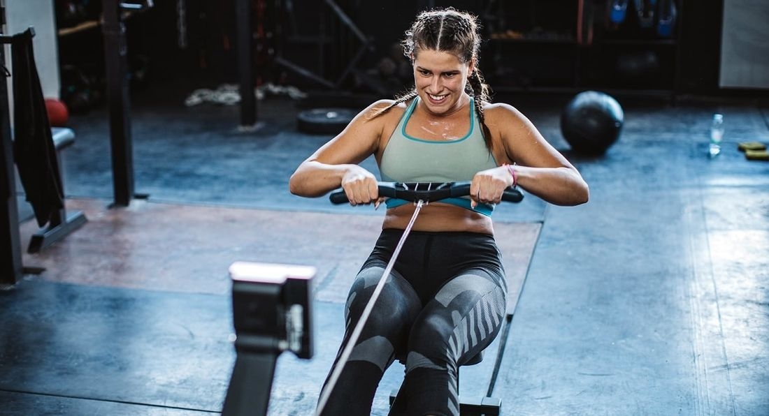 Try This Rowing Machine Finisher