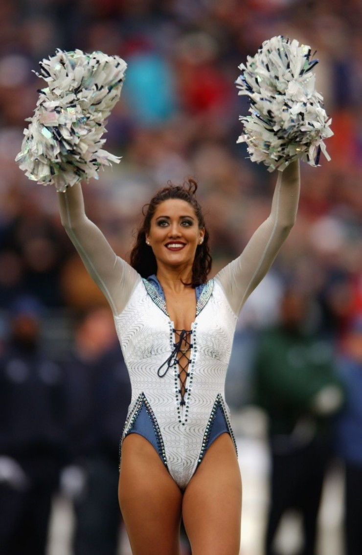 the world's sexiest, hottest, fittest cheerleaders