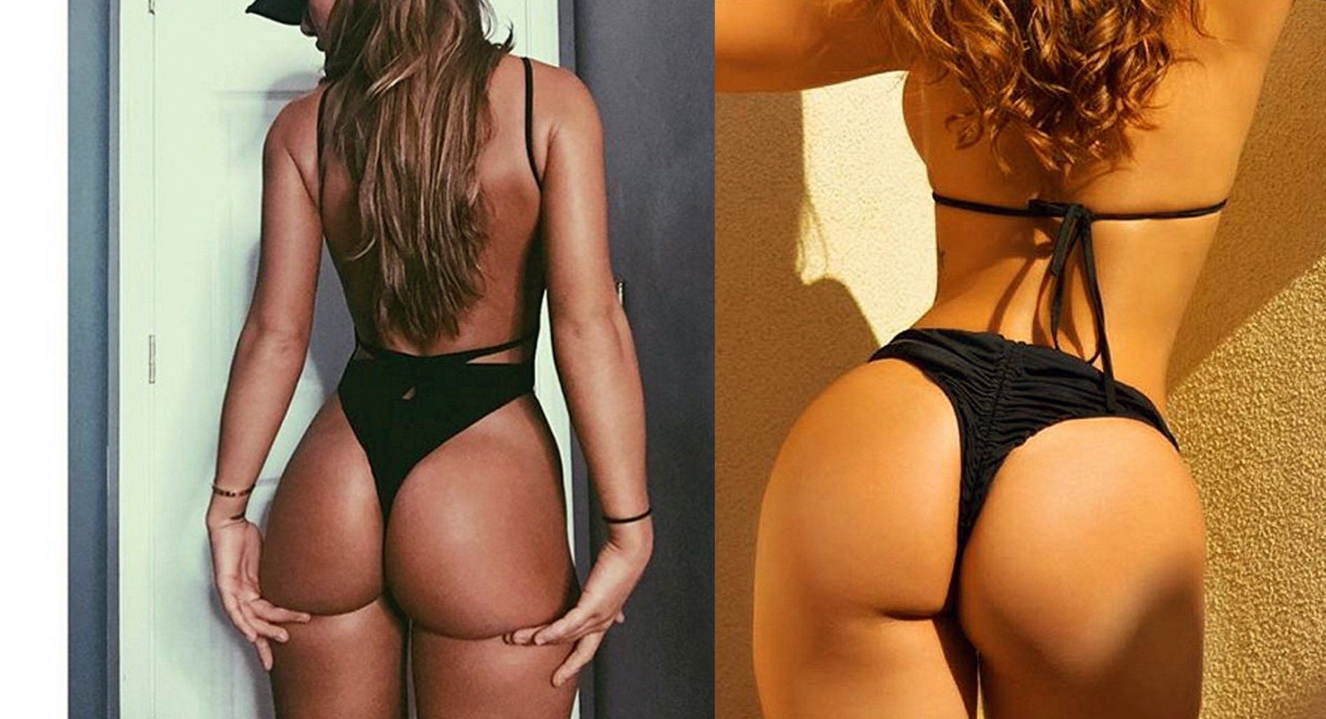 OMG! Best Glutes, She REALLY Squats Part 2
