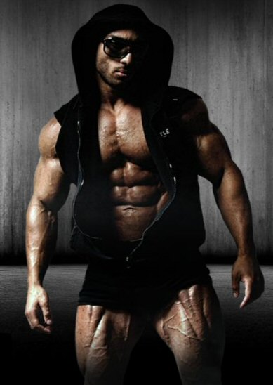 Celebrity Trainer Zee Shredded Diesel