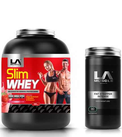 Slim Whey + Fat Stripper Intense
