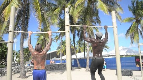 The Best Outdoor Gyms
