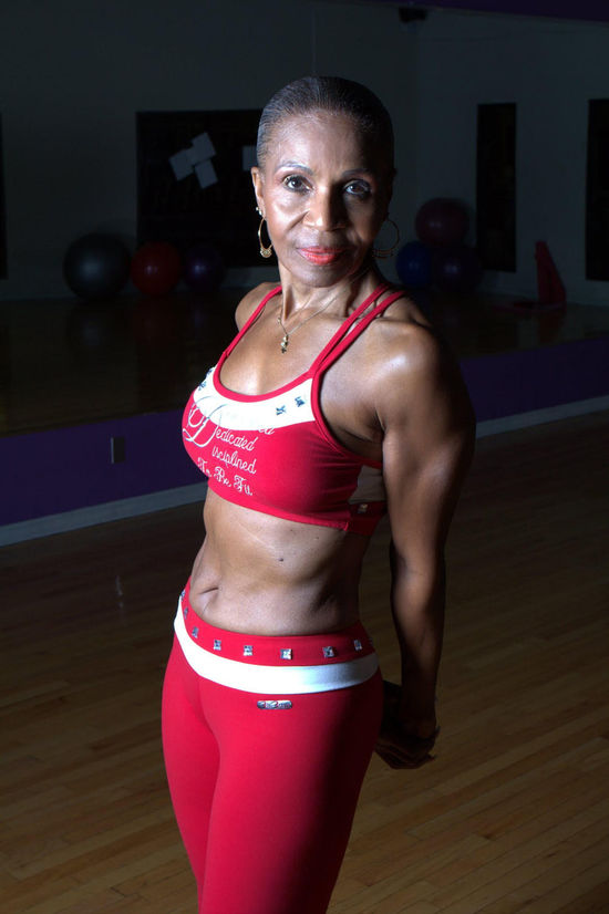 Ernestine Sheperd Oldest female bodybuilder