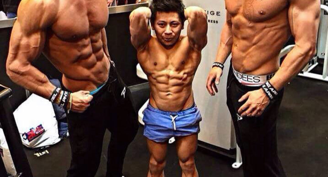 Meet the world's SMALLEST bodybuilder