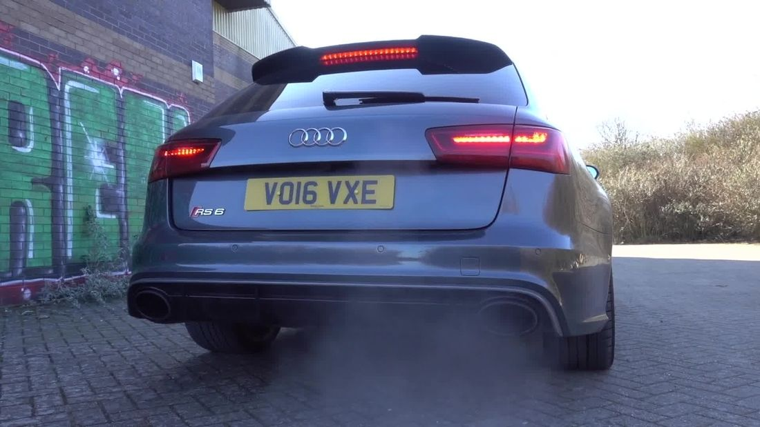 WOW WOW !The Audi RS6
