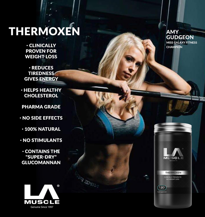Thermoxen Clinically Proven Fat Burner for men & women