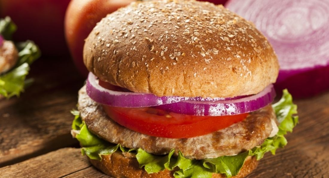High Protein Turkey Burgers