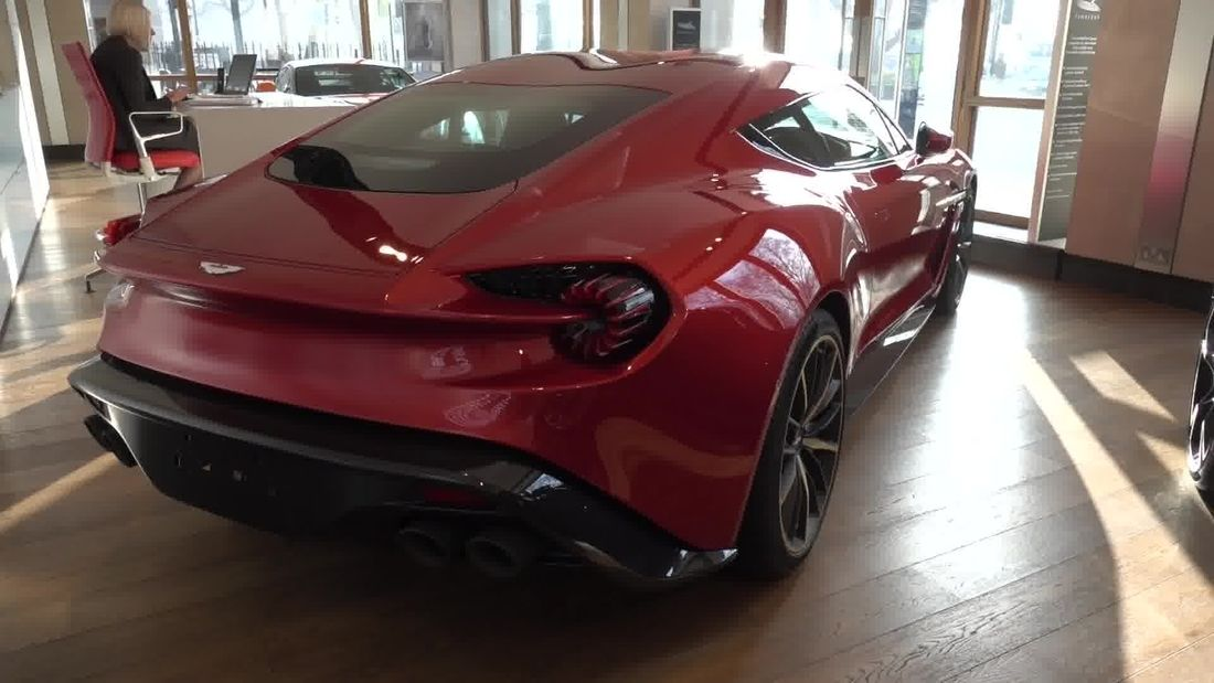 EXCLUSIVE: Aston Martin Zagato, 1 of 99