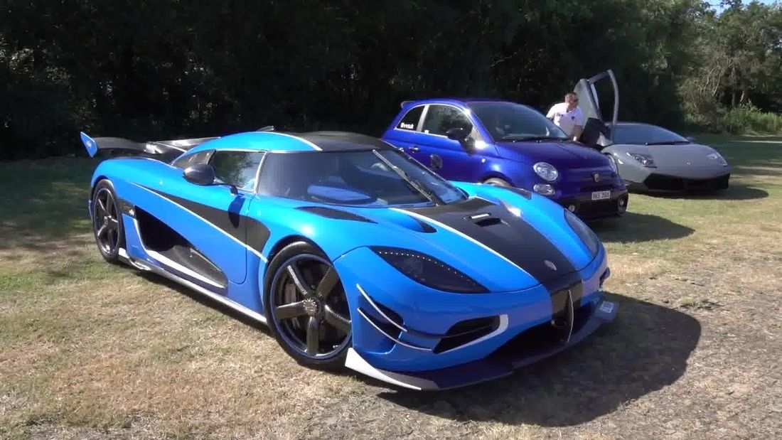 Supercar & Hypercar Meet hosted by VVS UK