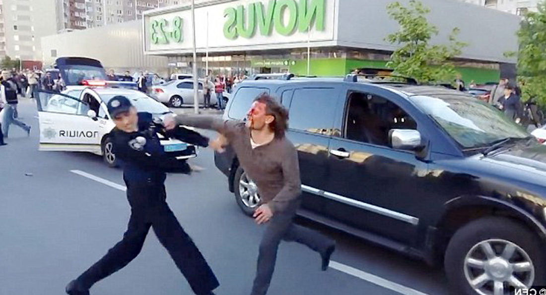 Former Olympic Champ BEATS 7 cops trying to arrest him!