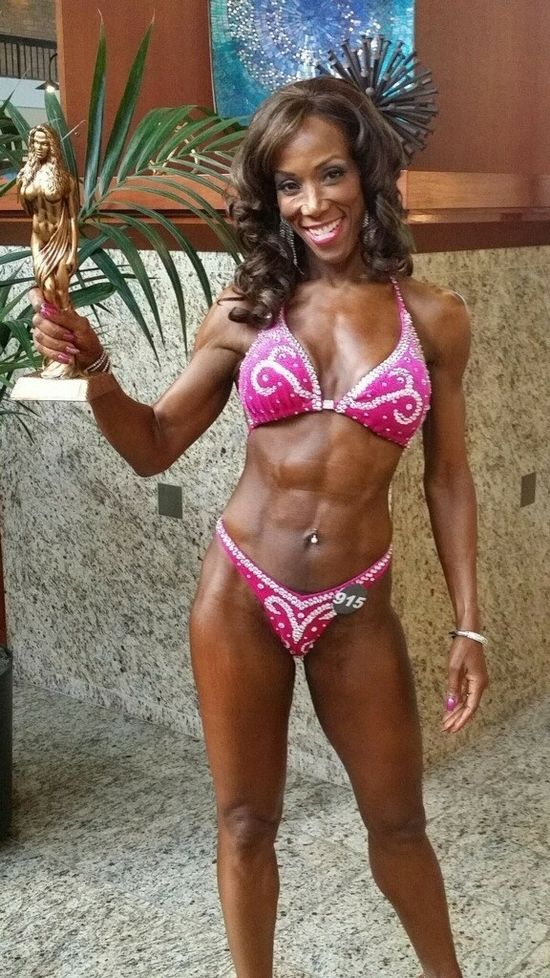 Wendy Ida, amazing grandmother and bodybuilder