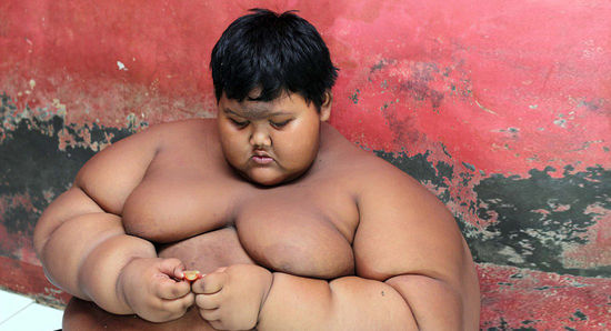 The world's fattest kid
