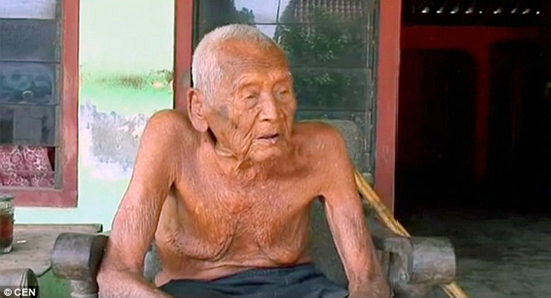 World's OLDEST man wants to die