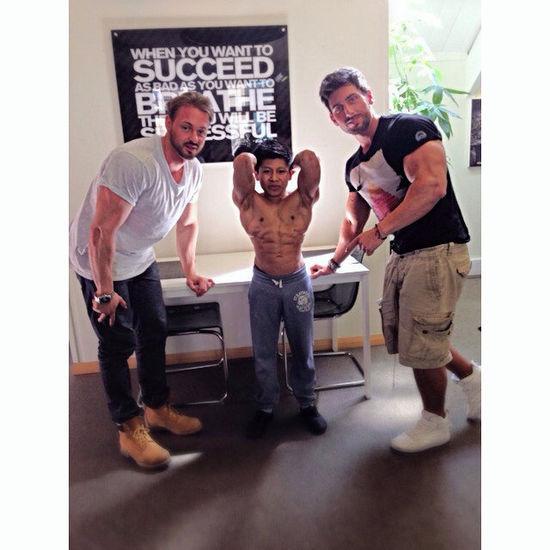 Worlds Smallest Bodybuilder