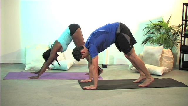 Yoga With Kyrin & Male Model