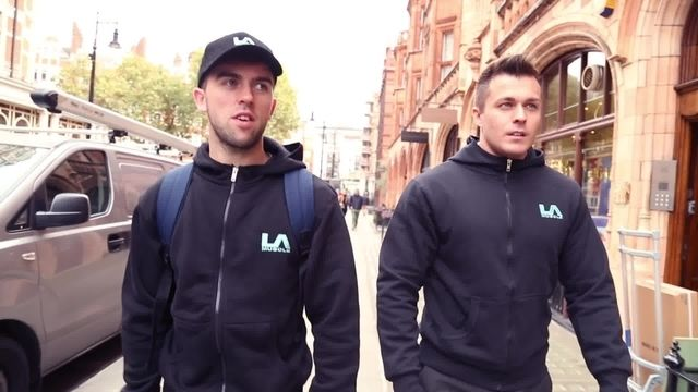Clueless bodybuilder goes super-car spotting in London with hilarious consequences
